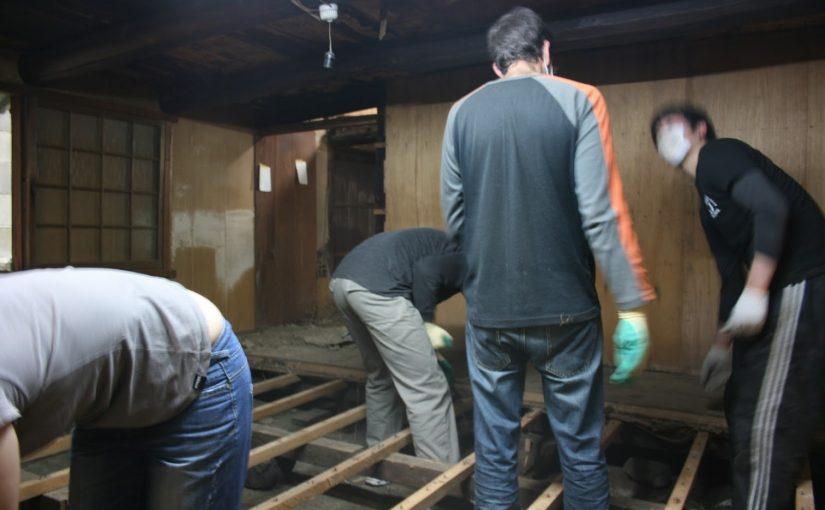 空き家工事のボランティアの意味をはき違える投資家が多数!!